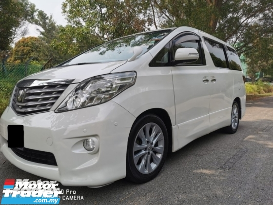 2008 TOYOTA ALPHARD 3.5 (A) VL SPEC - REG 10 LIKE NEW CAR