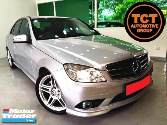 2008 MERCEDES-BENZ C-CLASS C180 C200 1.8 SEDAN (A) AMG SPEC PADDLE SHIFT C200 LEATHER SEAT