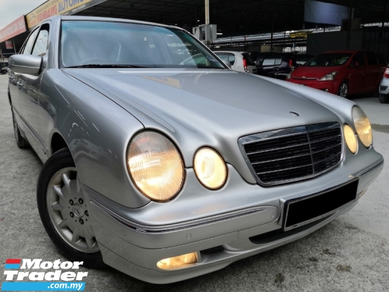 2000 MERCEDES-BENZ E-CLASS Mercedes Benz E240 AT TIPTOP CONDITION 1OWNER