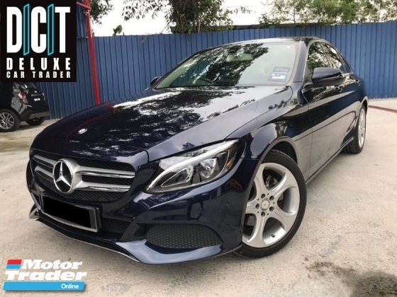 2016 MERCEDES-BENZ C-CLASS C200 W205 LOCAL DEMO CAR  WARRANTY UNTIL 2020 FREE SERVISE VOCHER LIMITED STOCK UNIT