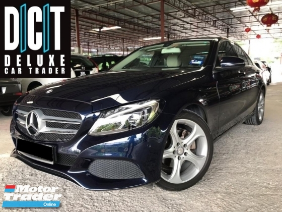 2016 MERCEDES-BENZ C-CLASS  C200 2.0 LOCAL DEMO CAR UNIT FULL SEVICE RECORD LOW MILEAGE 36K FREE SERVISE VOUCHER LIMITED STOCK UNIT