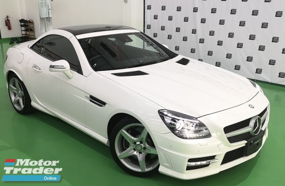 2015 MERCEDES-BENZ SLK 2015 MERCEDES BENZ SLK AMG 200 2.0 cc WITH 9 SPEED GEARBOX  NEW FACELIFT UNREG JAPAN SPEC