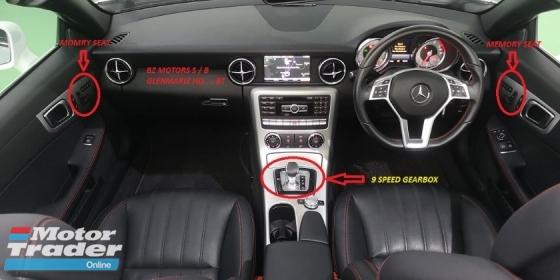 2015 MERCEDES-BENZ SLK 2015 MERCEDES BENZ SLK AMG 200 2.0 cc WITH 9 SPEED GEARBOX  NEW FACELIFT UNREG JAPAN SPEC