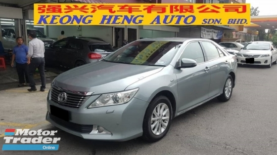 2013 TOYOTA CAMRY 2.0G (CKD Local Spec)