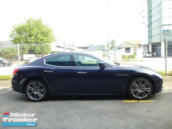 2014 MASERATI GHIBLI (S 410HP) IMPORT NEW FROM NAZA. GENUINE MILEAGE. IMMACULATE CONDITION. FULL OPTION SPEC.