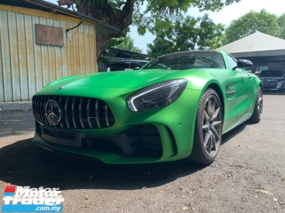 2018 MERCEDES-BENZ GTR AMG GTR 4.0L V8 TURBO LIMITED EDITION UNREG