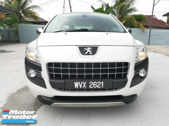 2011 PEUGEOT 3008 1.6 (A) - Malay Owner , True Year Made