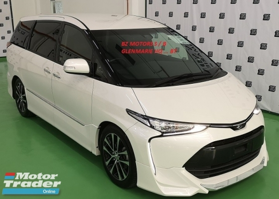 2016 TOYOTA ESTIMA 2016 TOYOTA ESTIMA 2.4 AERAS PREMIUM NEW FACELIFT JAPAN SPEC UNREG CAR SELLING PRICE RM 193,000.00