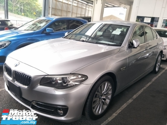 2014 BMW 5 SERIES 2.0 TWIN POWER TURBO 184 HP MEMORY SEATS LANE ASSIST SYSTEM SPORT MODE FREE WARRANTY