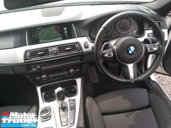 2014 BMW 5 SERIES 2.0 TWIN POWER TURBO 184HP MEMORY SEATS REVERSE CAMERA SPORT MODE FREE WARRANTY