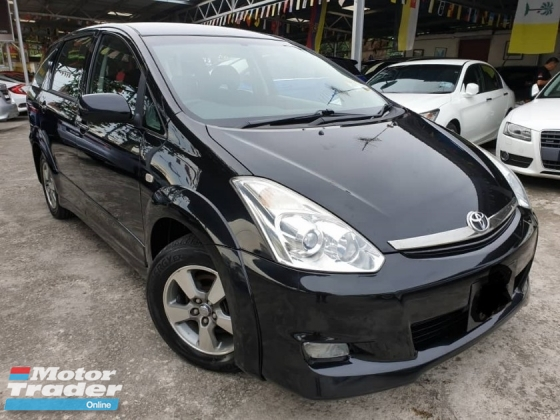 2006 TOYOTA WISH 2.0 TYPE S VVTI LOCAL 2007