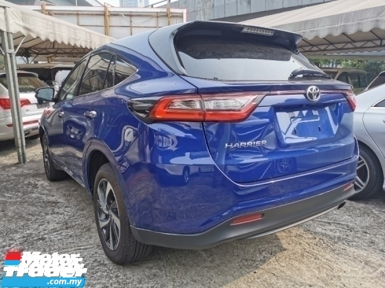2017 TOYOTA HARRIER 2.0 TURBO PREMIUM UNREG.TRUE YEAR MADE CAN PROVE.POWER BOOT.360 SURROUND CAMERA.PRE CRASH.LANE ASSIST.LED LIGHT.18 INCH SPORT RIM.KEYLESS ENTRY.PUSH START BUTTON.MILTIFUNCTION STEERING N ETC.FREE WARRANTY N MANY GIFTS