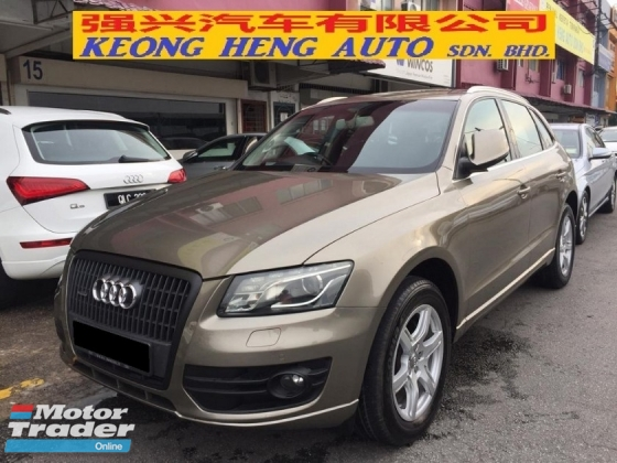 2009 AUDI Q5 2.0 TFSI CBU Registered 2010