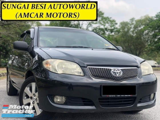 2008 TOYOTA VIOS 1.5G (AT) NEW TYRE/ABSORBER DVD TIP TOP COND