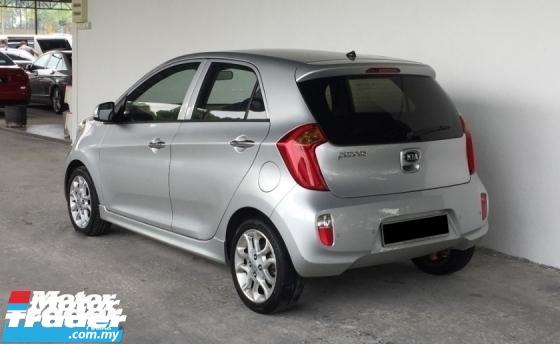2014 KIA PICANTO 1.2 Auto Push Start Eco Mode High Spec