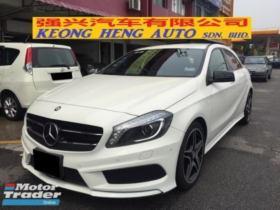 2015 MERCEDES-BENZ A-CLASS A180 AMG Japan Spec Registered 2018