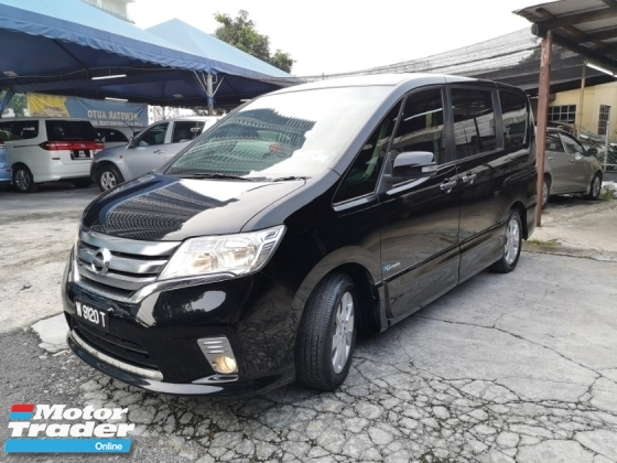 2013 NISSAN SERENA 2.0 S-Hybrid POwerDoor Highway Star