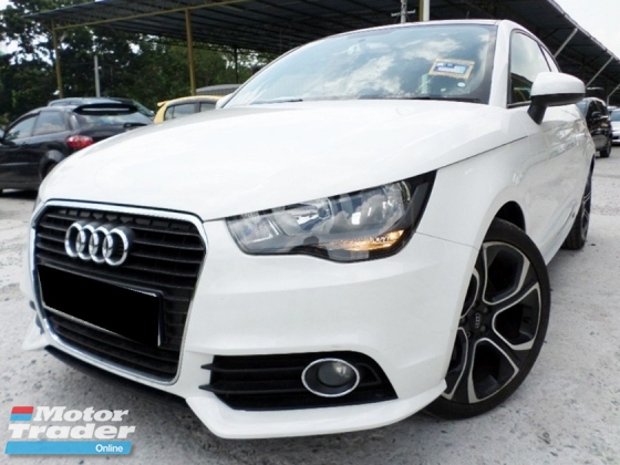 2012 AUDI A1 1.4 TFSI S-LINE (A) ONE CAREFUL OWNER