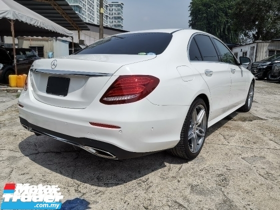 2017 MERCEDES-BENZ E-CLASS E250 NEW FACELIFT 2.0 AMG 360 CAMERA UNREG