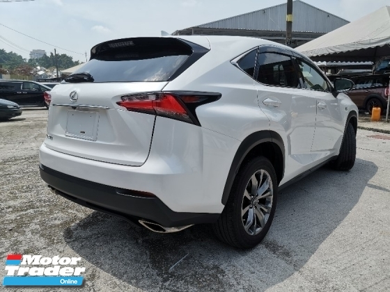 2015 LEXUS NX 200T 2.0 F Sport SUV PANAROMIC ROOF/BLACK INTERIOR 3EYE UNREG