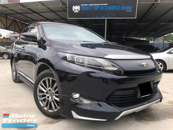 2016 TOYOTA HARRIER HARRIER 2.0 Premium Advanced - FULL SPEC - REGISTER 2016 - WARRANTY - FULL BODYKIT - POWER BOOT - ELECTRIC MEMORY SEAT - FULL SERVIS - DEAL BIAR JADI