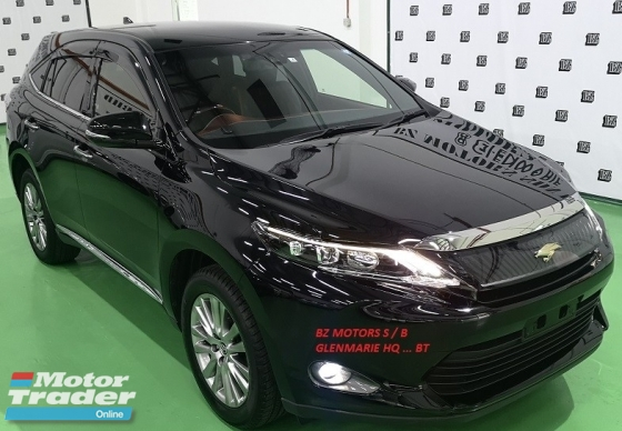2015 TOYOTA HARRIER 2015 TOYOTA PREMIUM 2.0A ORIGINAL FROM JAPAN UNREG CAR SELLING PRICE ONLY ( RM 158,000.00 NEGO )