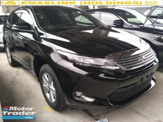 2015 TOYOTA HARRIER 2.0 POWER BOOT 360 SURROUND CAMERA SEMI LEATHER ELECTRIC SEATS FREE WARRANTY