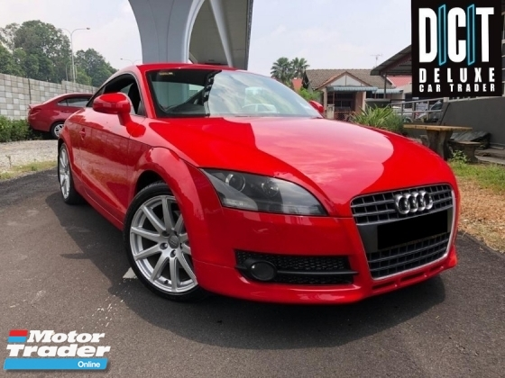 2010 AUDI TT 2.0 TFSI PREMIUM HIGH SPEC ONE OWNER LOW MILEAGE TIPTOP CONDITION LIKE NEW CAR