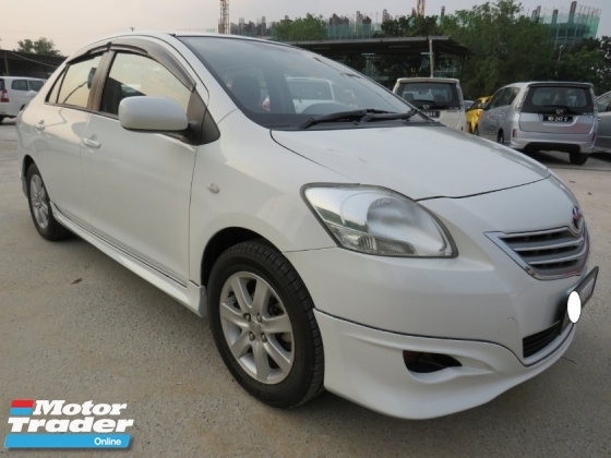 2012 TOYOTA VIOS 1.5 (AT) Nice No Plate 7777 One Owner TRD Bodykit 100% Accident Free High Loan Tip Top Condition Must View