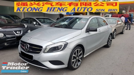 2015 MERCEDES-BENZ A-CLASS A200 CGI 1.6cc (A) REG MARCH 2016, ONE LADY OWNER, FULL SERVICE RECORD, LOW MILEAGE DONE 41K KM, UNDER WARRANTY UNTIL MARCH 2020, 18\