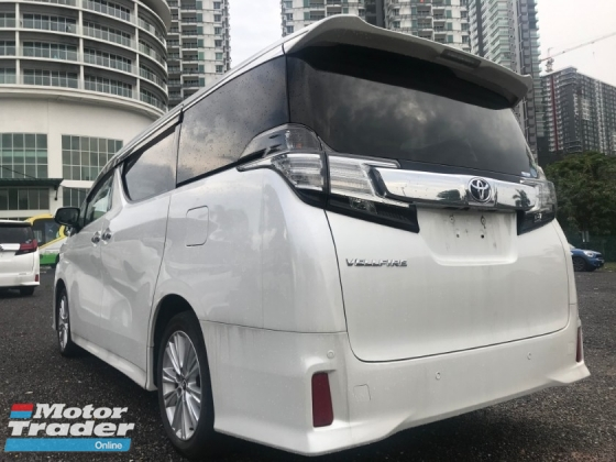 2015 TOYOTA VELLFIRE 2.5 ZA Edition [4 YEARS WARRNTY , MERDEKA SPECIAL DEAL] GUARANTEE LOWEST PRICE IN THE MARKET CALL ME NOW BEFORE TOO LATE !