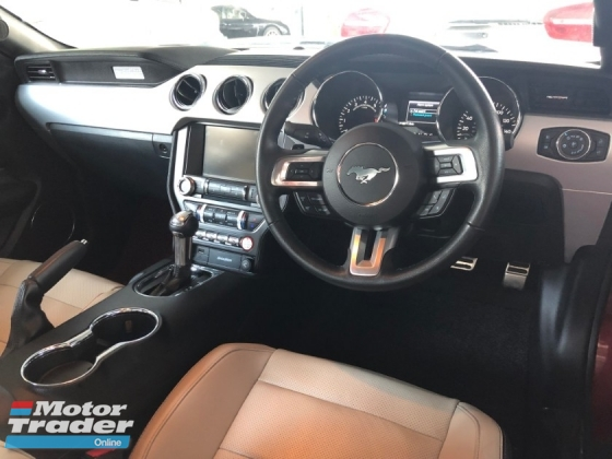 2016 FORD MUSTANG 2.3 EcoBoost Turbocharged 310hp SHAKER® Surround Sport/Race Drive Select Xenon LED Push Start Button Multi Function Steering Reverse Camera Bluetooth Connectivity Unreg