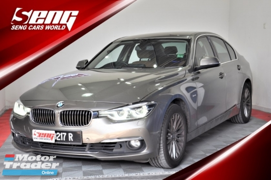 2017 BMW 3 SERIES 318i 1.5 LUXURY Facelift F30 U/Warnty