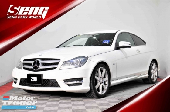 2013 MERCEDES-BENZ C-CLASS C250 Coupe 1.8 FACELIFT W204