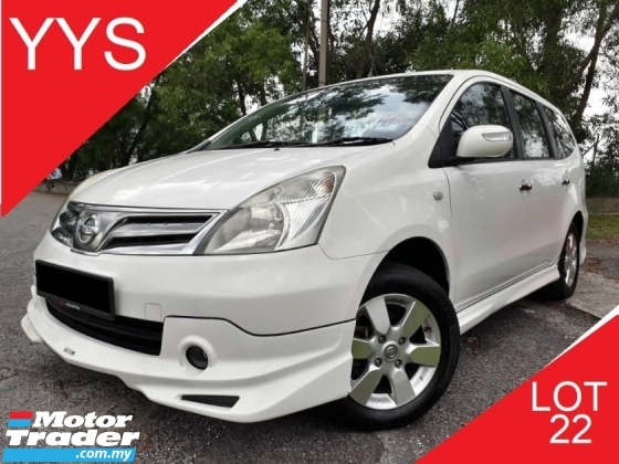 2012 NISSAN LIVINA 1.8 (A) FULL SPEC NISMO 1 CAREFUL OWNER ACC FREE YEAR END PROMOTION PRICE.