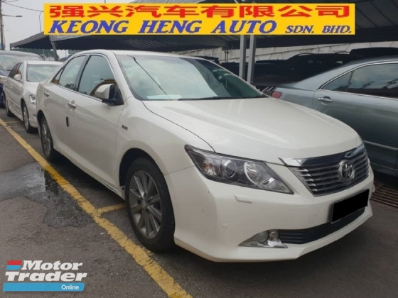 2014 TOYOTA CAMRY 2.0G X (CKD Local Spec)