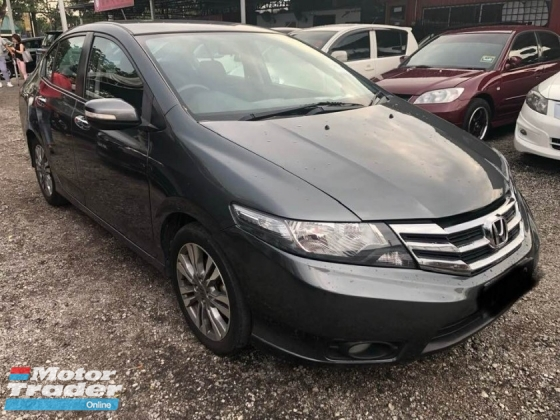 2013 HONDA CITY 1.5E FACELIFT (A) LOW MILEAGE