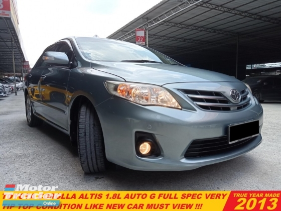2014 TOYOTA ALTIS COROLLA 1.8 ALTIS G FACELIFT(A)LIKE NEW