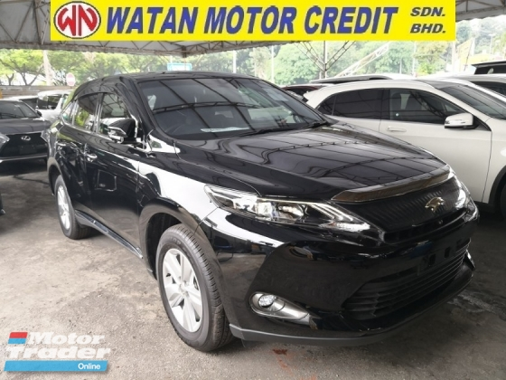 2017 TOYOTA HARRIER 2.0 360 CAM PAN ROOF POWER BOOT JAPAN UNREG