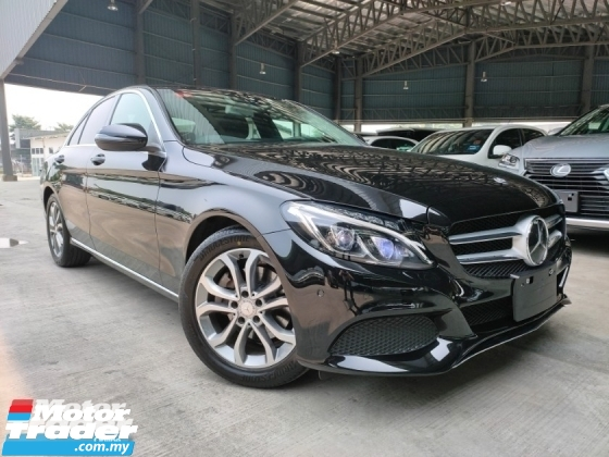 2016 MERCEDES-BENZ C-CLASS 2016 Mercedes C200 Avantgarde W205 Pre Crash Blind Spot HUD LKA Power Boot Full Leather Unregister for sale