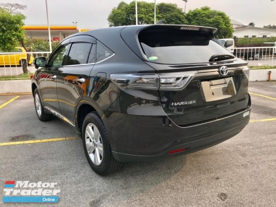 2016 TOYOTA HARRIER ELEGANT