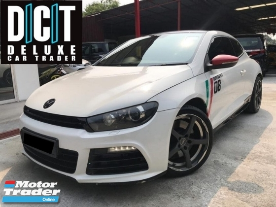2013 VOLKSWAGEN SCIROCCO R 2.0 SPORT FULL SERVICE RECOURD ONE OWNER LIKE NEW TIP TOP CONDITION
