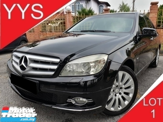 2010 MERCEDES-BENZ C-CLASS C200 1.8 (A) CGI BLUE EFFICIENCY GOOD CONDITION PROMOTION PRICE.