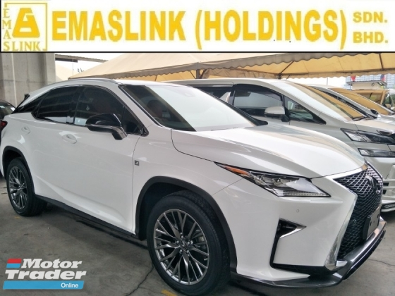 2016 LEXUS RX 200t power boot head up display camera power mode panaromic roof 20 sport rim free warranty