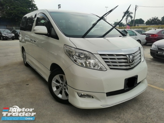 2008 TOYOTA ALPHARD 240S PRIME SELECTION II