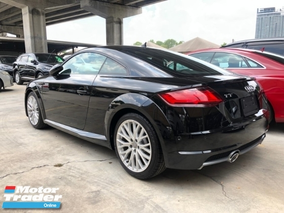 2016 AUDI TT 2.0 S-Line Quattro Turbocharged S-Tronic 230hp Matrix LED Virtual Cockpit MMI Auto Bucket Seat Multi Function Paddle Shift Steering Reverse Camera Unreg
