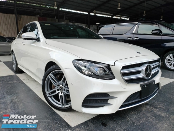 2018 MERCEDES-BENZ E-CLASS 2018 Mercedes E250 AMG W213 Panaromic Roof 4 Camera Head Up Display Power Boot Full Leather Burmester Sound System Unregister