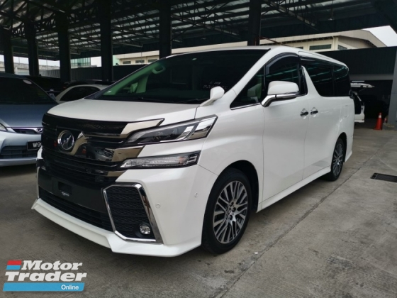 2015 TOYOTA VELLFIRE 2.5 ZG Edition SPEC-FULL LEATHER PILOT SEAT , JBL HOME THEATER , SUNROOF [ 4 YEARS WARRANTY MUST VIEW UNIT ] LOWEST PRICE IN TOWN !