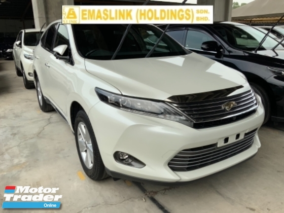 2016 TOYOTA HARRIER 2.0 surround camera power boot push start keyless entry electric seat Japan unregistered
