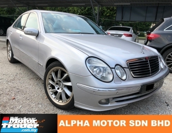 2005 MERCEDES-BENZ E-CLASS E240 2.6 (A) AVANTGARDE HIGH SPEC